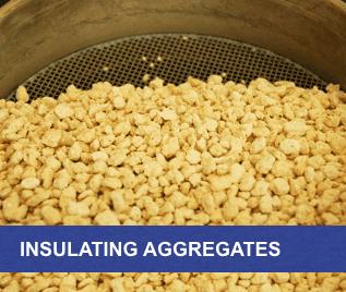 insulating aggregates