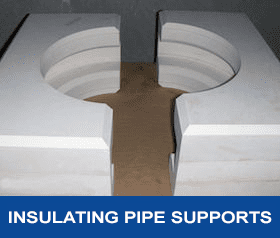 INSULATED PIPE SUPPORTS